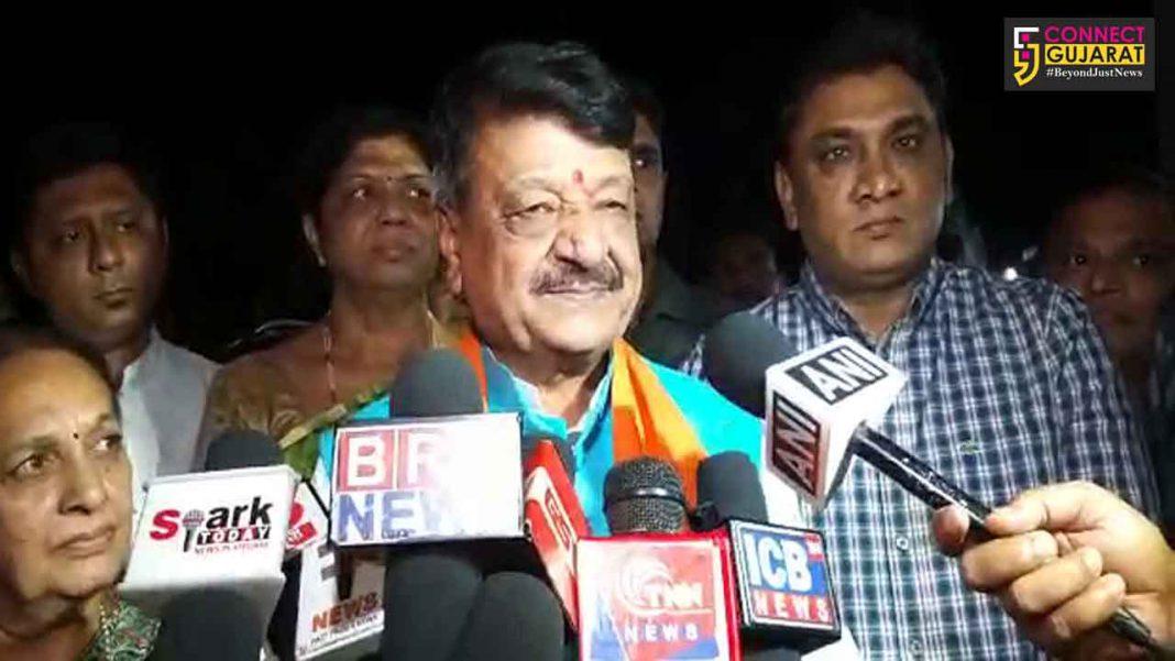 Senior BJP leader Kailash