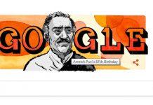 Amrish Puri google doodle