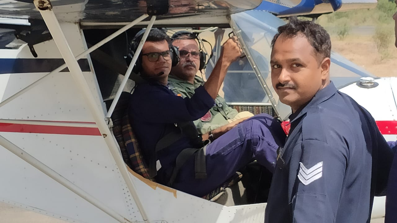 NCC Flying Training Commences at Mehsana AirField