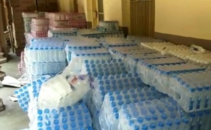 Vadodara district administration sent relief materials to Saurashtra