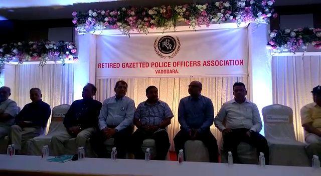 AGM of Retired Gazetted Police Officers Association held in Vadodara