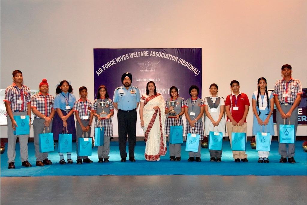 AFWWA (R) ANNUAL DECLAMATION CONTEST 2019 held at SWAC HQ Gandhinagar