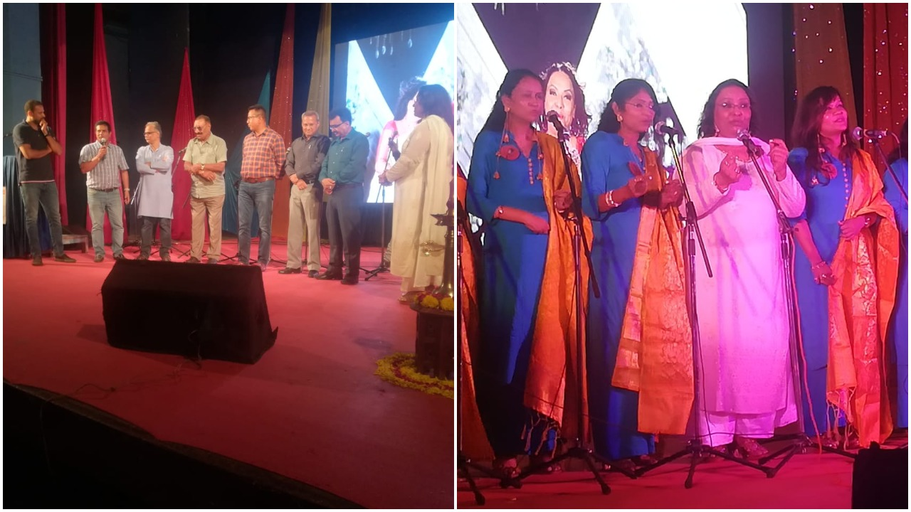 Swaranjali Music Academy launched their first video album