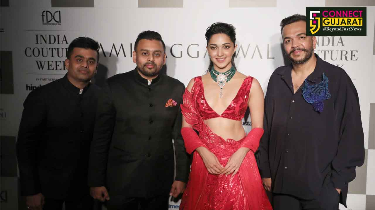 Narayan Jewellers launched their bridal collection with Kiara Advani at FDCI Couture Week