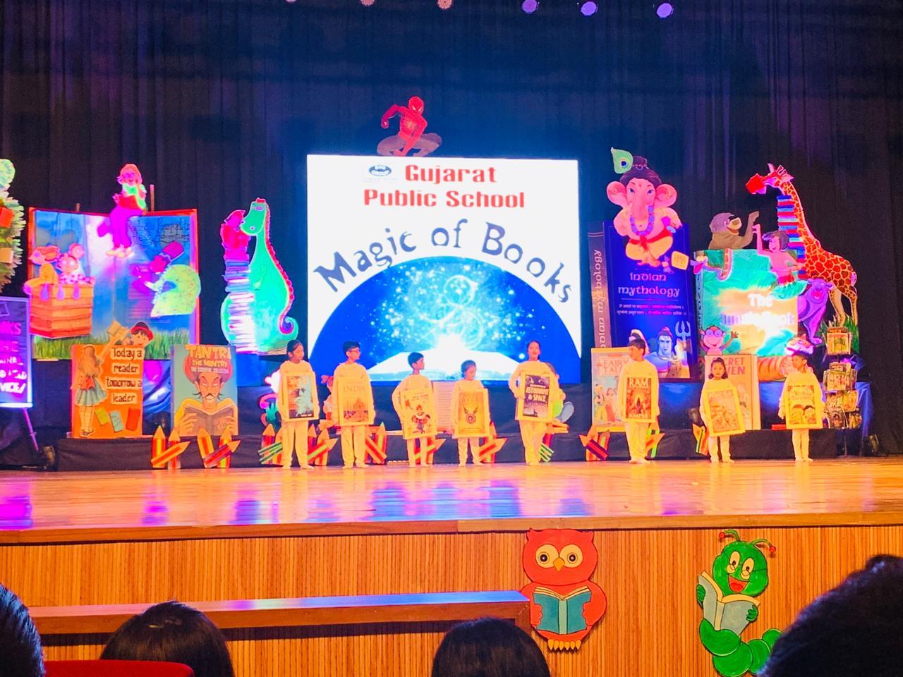 18th Annual Concert of Gujarat Public School Baroda