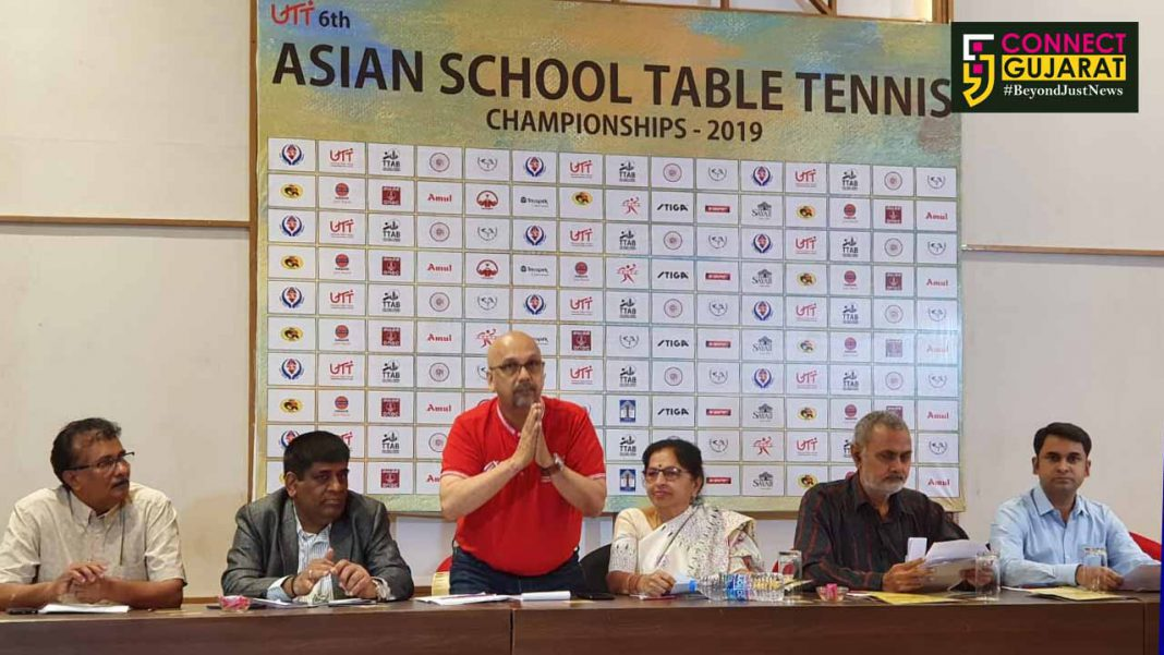 Vadodara to host UTT 6th Asian School Table Tennis Championship