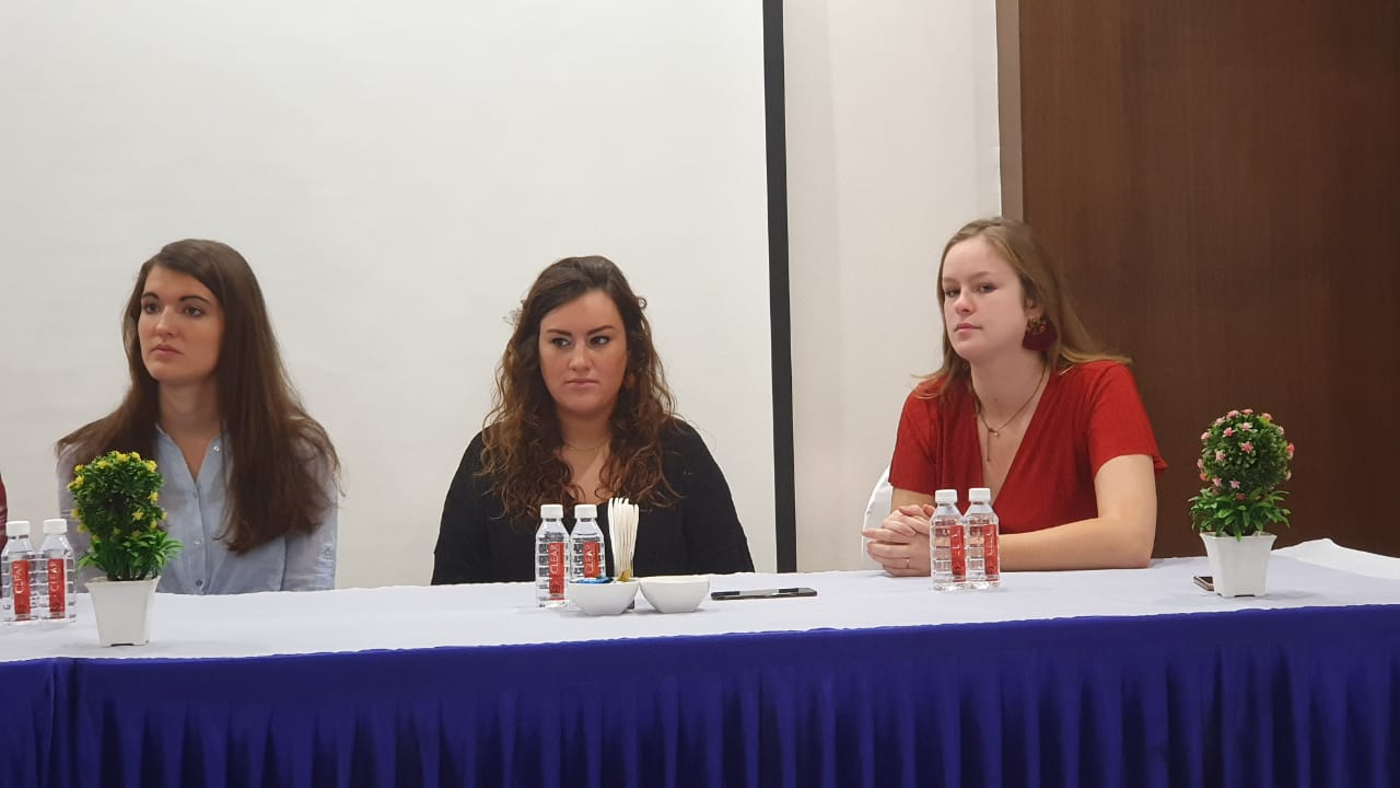 Belgian students conducted effective education centred projects at Parul University