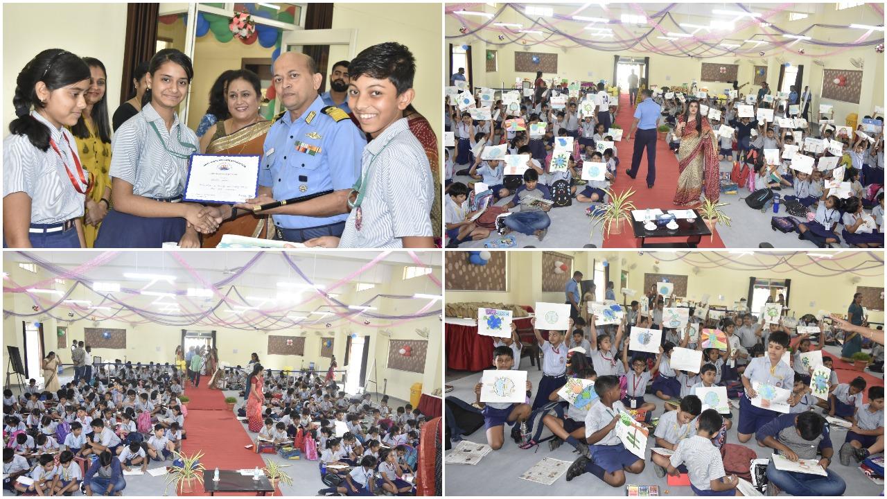 School children connect with Indian Navy through art