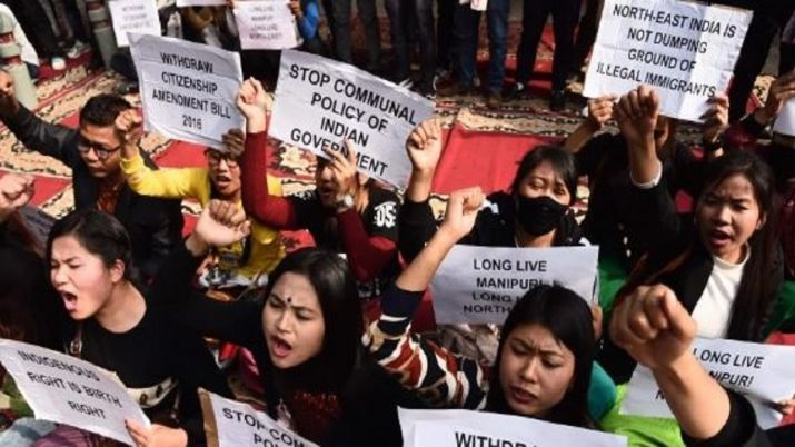 "11-hr ""Northeast bandh"" begins, protest against CAB at it's peak"