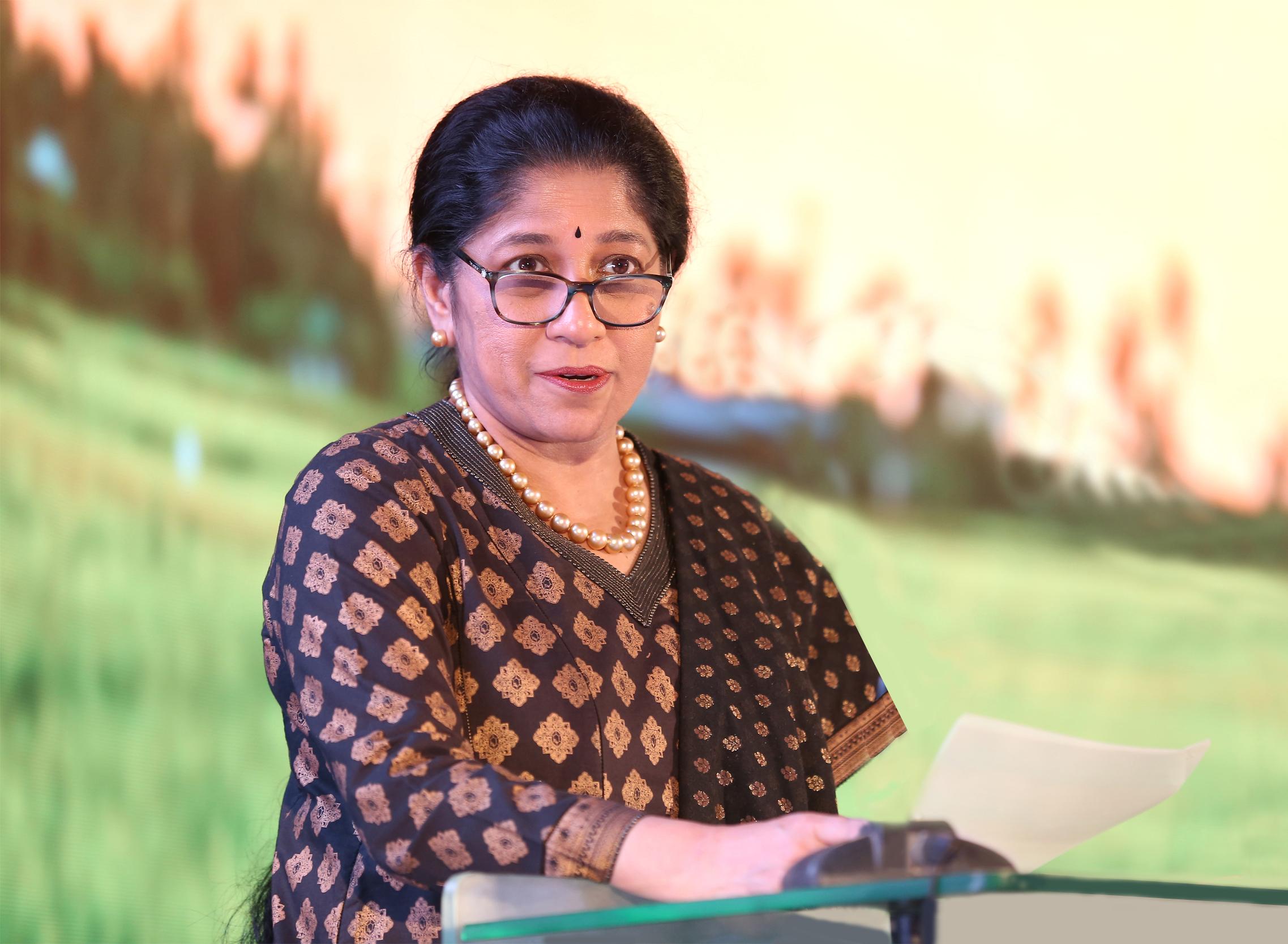 TAFE Chairman Mallika Srinivasan appointed to the Global Board of U.S.-India Business Council (USIBC)