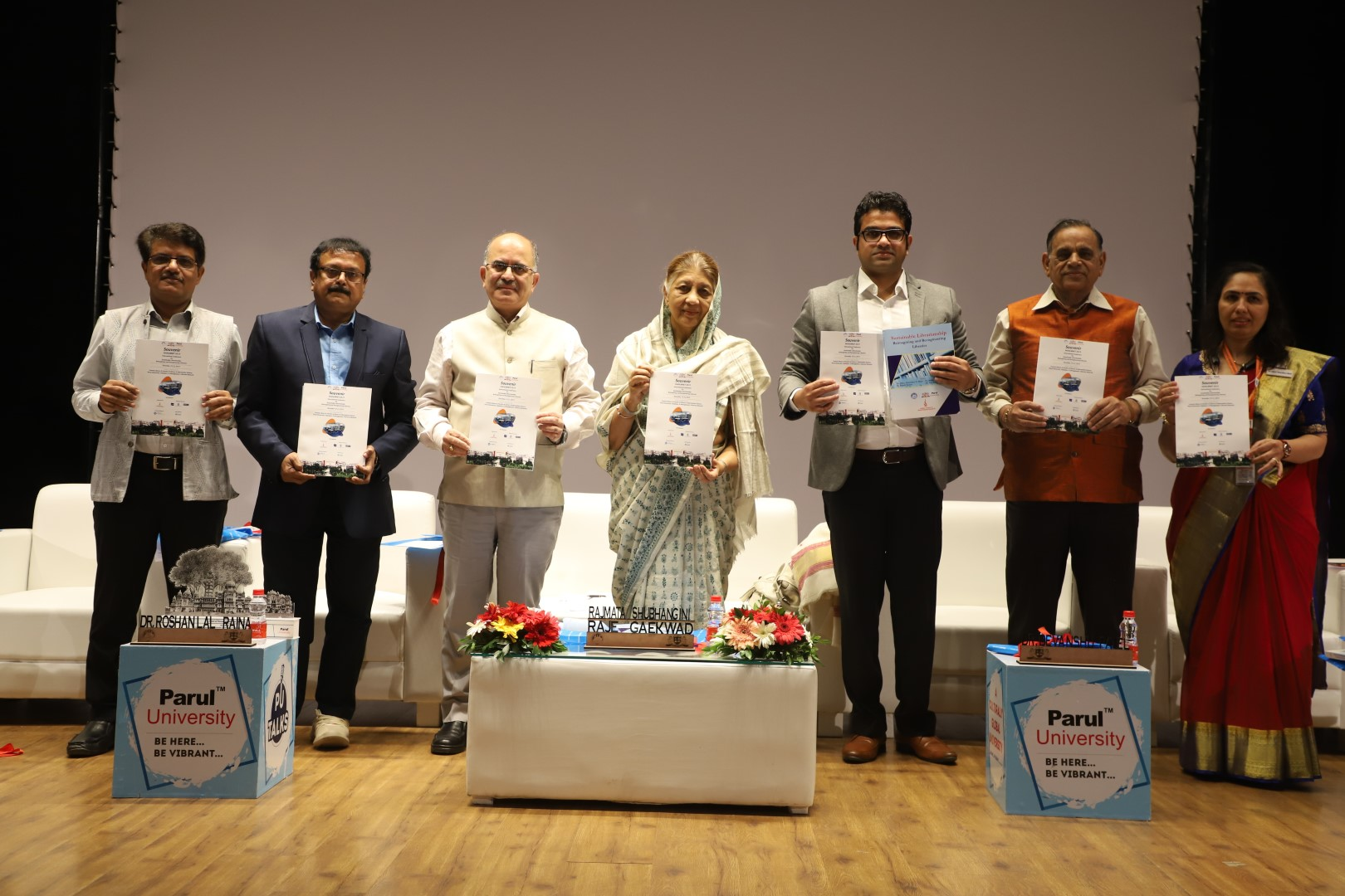 Three day international Conference on Sustainable Librarianship at Parul University
