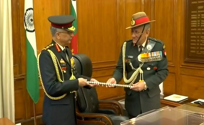General Manoj Mukund Naravane takes charge as Chief of Army Staff