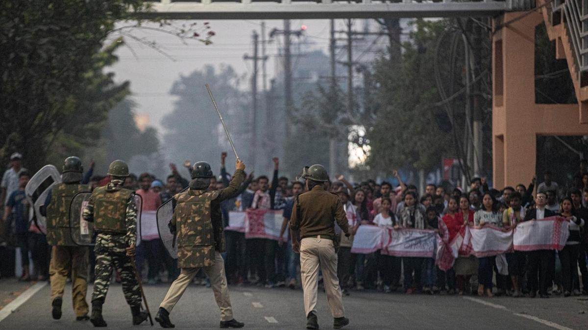 Two got killed in north-east firing as citizens protests against citizenship law