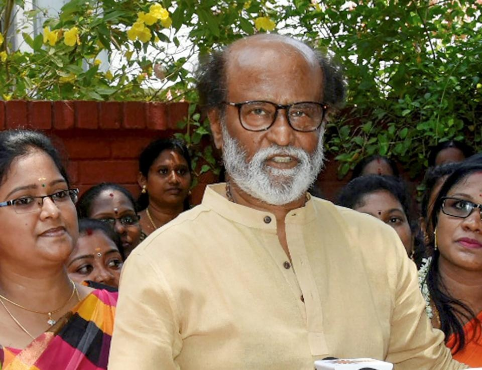 'Violence should not be solution': Rajinikanth breaks silence on Citizenship Act