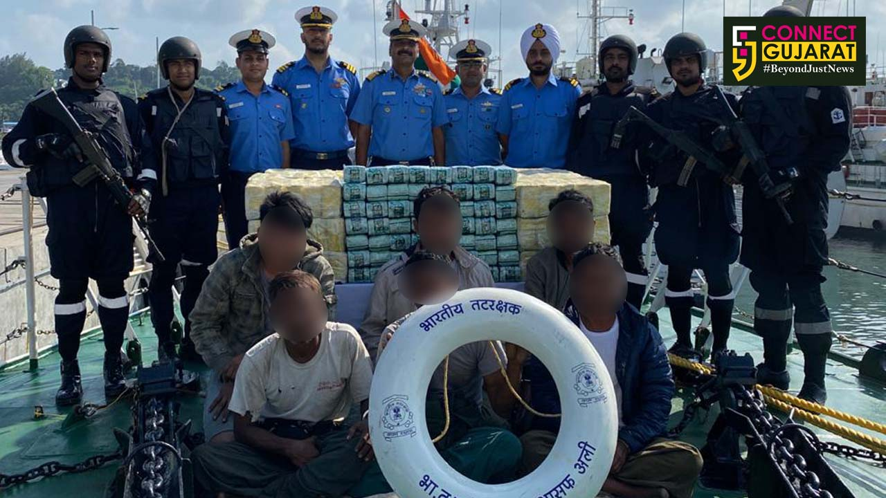 Indian Coast Guard ship detains one Myanmarese boat for violations of NDPS act