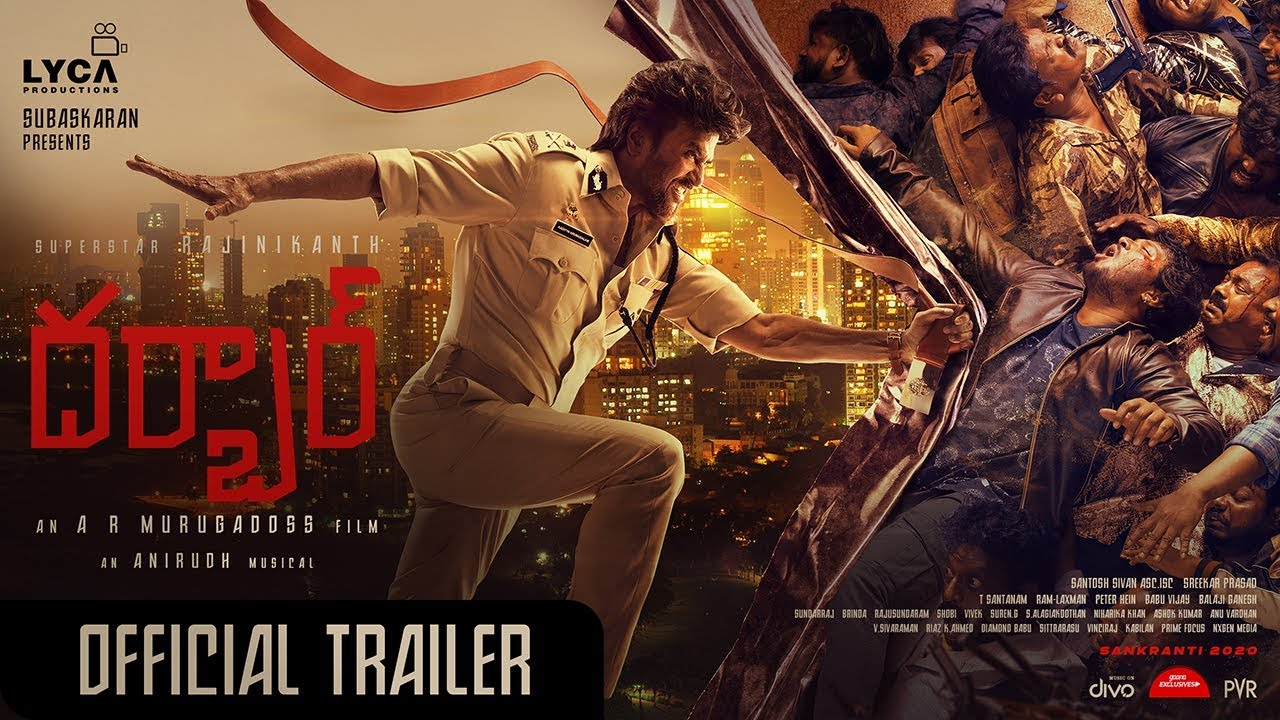 Darbar trailer out: Rajinikanth is back as the bad cop