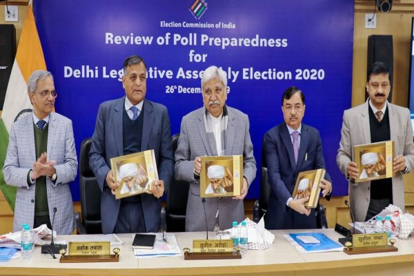 Election Commission reviews poll preparations for the upcoming Delhi assembly elections