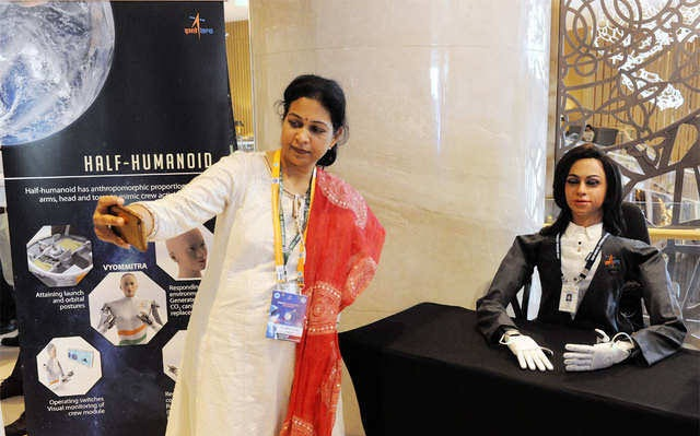 Meet ISRO's half-humanoid robot 'Vyom Mitra', which will travel to space