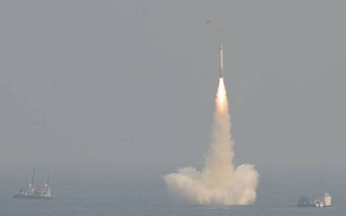 India successfully tests its 3,500km-range K-4 missile