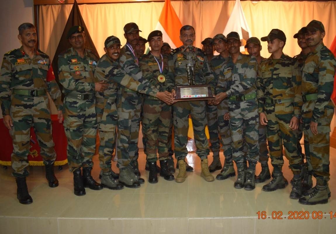 Indian Army Scout Master competition conducted at Jaisalmer