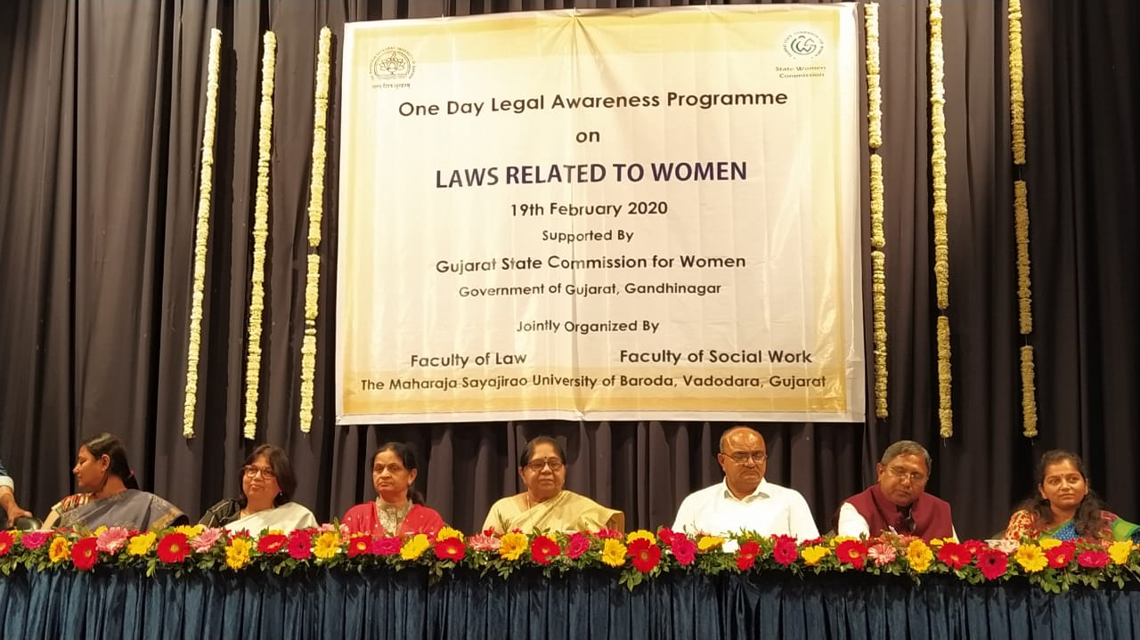 One day Legal Awareness Program on laws related to women at MSU