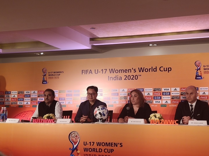 FIFA U-17 Women's Football World Cup to be hosted in 5 cities in November