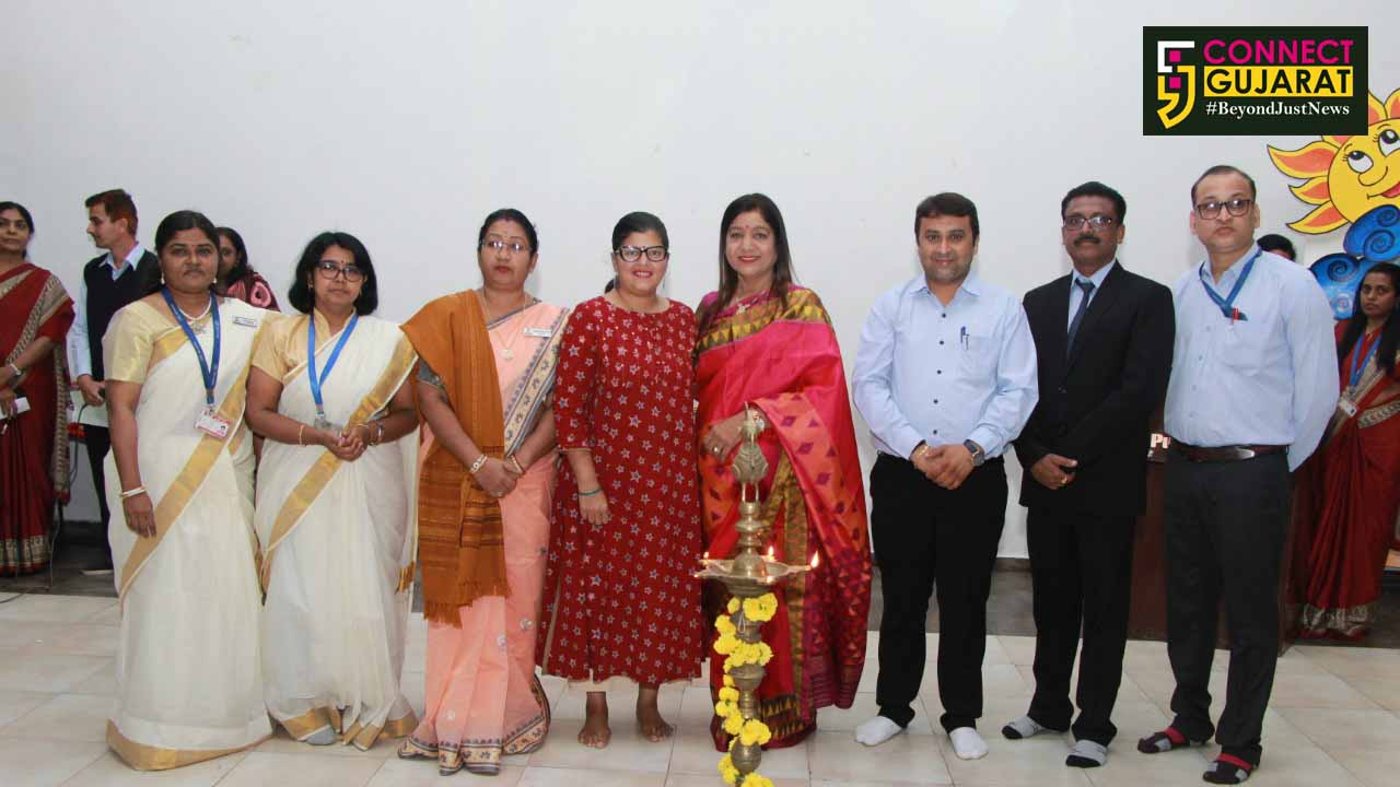 Gujarat Public School organise a blessing ceremony for students