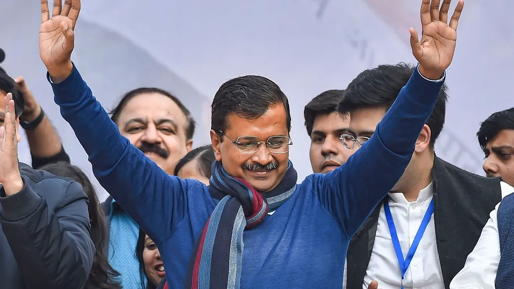 AAP Party Convenor Arvind Kejriwal to take oath as Chief Minister of Delhi today