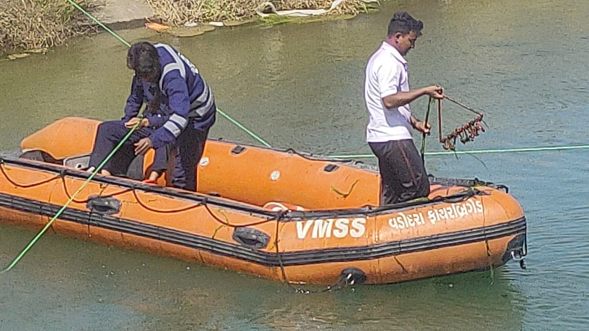 16 years old boy drowned inside the canal at Chhani in Vadodara