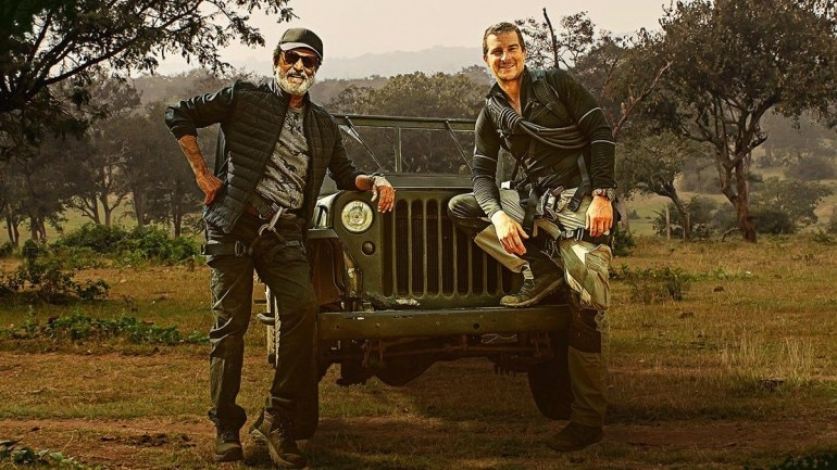 Second teaser of Rajinikanth's 'Into the Wild with Bear Grylls' out