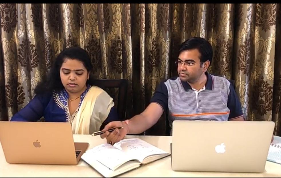 Gujarati Jain couple prepare Youtube video of Coronavirus for awareness in people