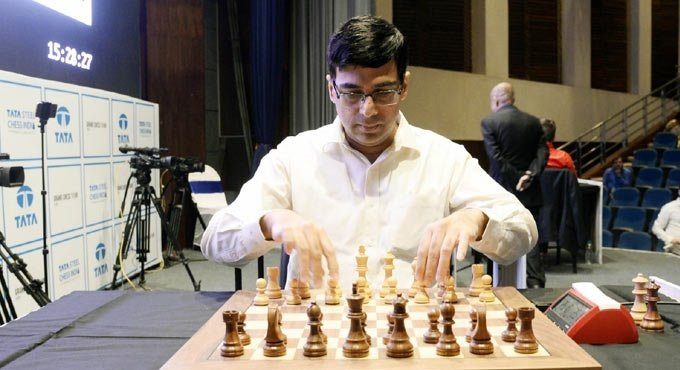 Viswanathan Anand registers win after six straight losses in Legends of Chess