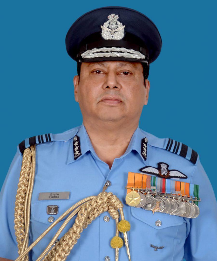Air Marshal B Suresh AOC in C WAC IAF Procceds on Superannuation