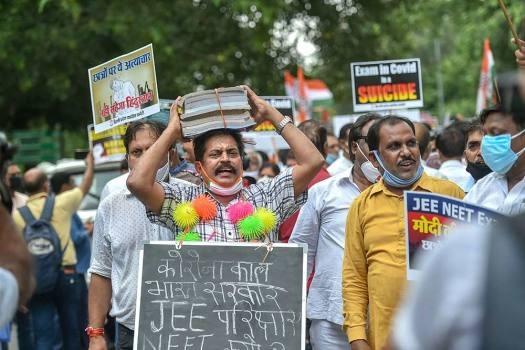 Six states move SC for postponement of NEET-JEE exams