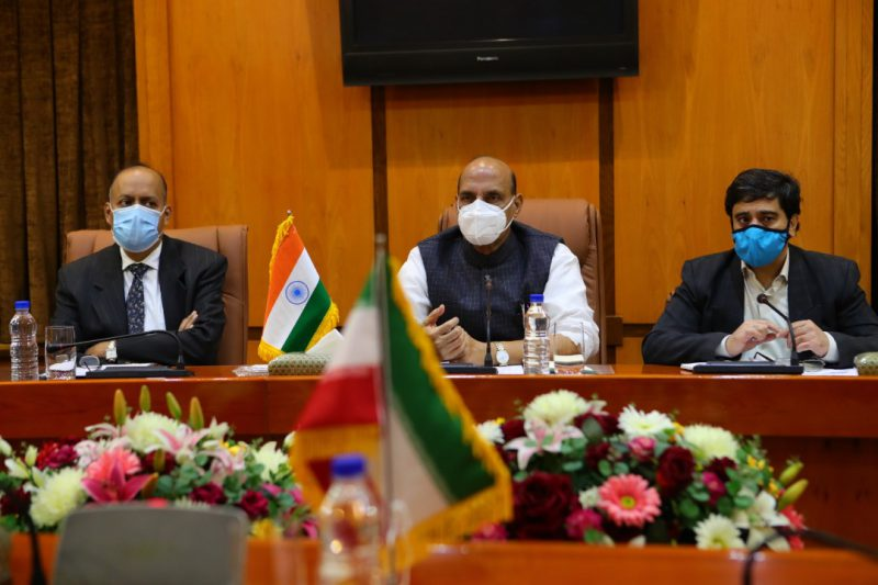 Defence Minister Rajnath Singh's meeting with Iran's Minister of Defence and Armed Forces Logistics
