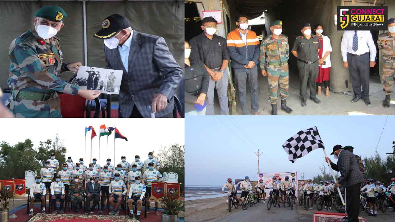 Indian Army's Konark Corps flags off cycle expedition to celebrate golden jubilee victory of 1971 war