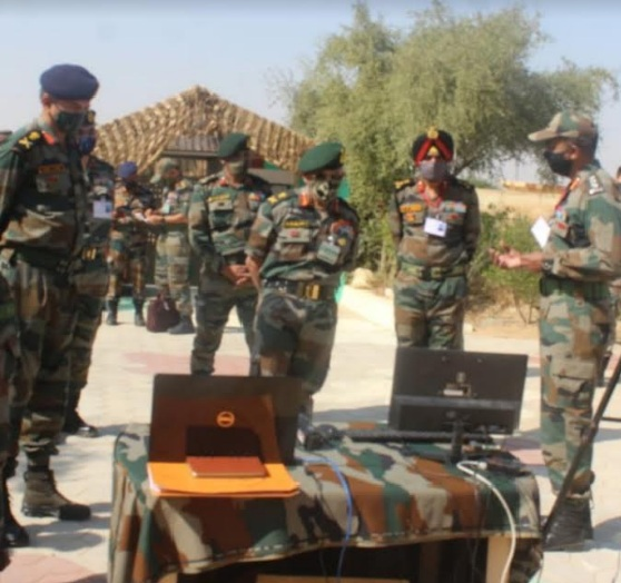 Army Commander Southern Command reviews operational readiness of Konark Corps at Jaisalmer