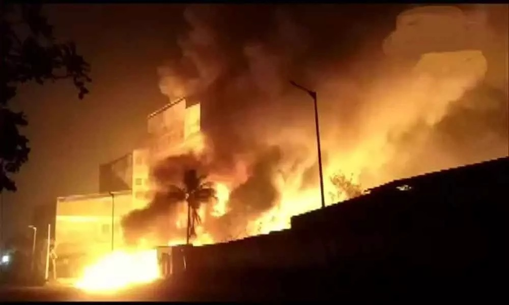 Fire breaks out at chemical factory in Ahmedabad, no casualties reported