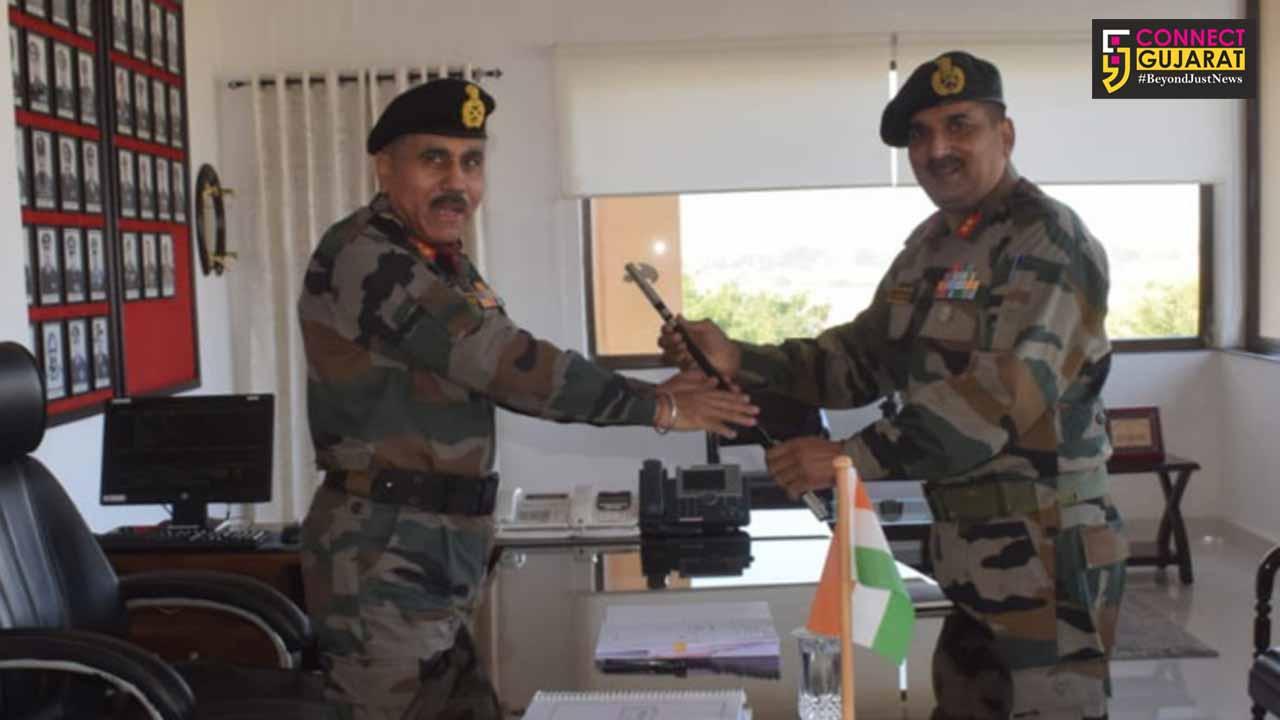 Major General Ajeet Singh Gahlot, Sena Medal took over as General Officer Commanding, Battle Axe Division