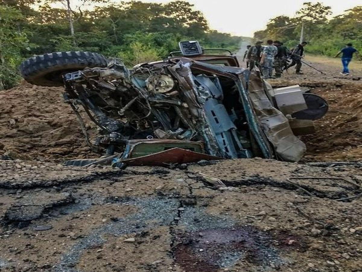 Chhattisgarh: Naxalites blow up civilian vehicle in Bijapur, 2 injured