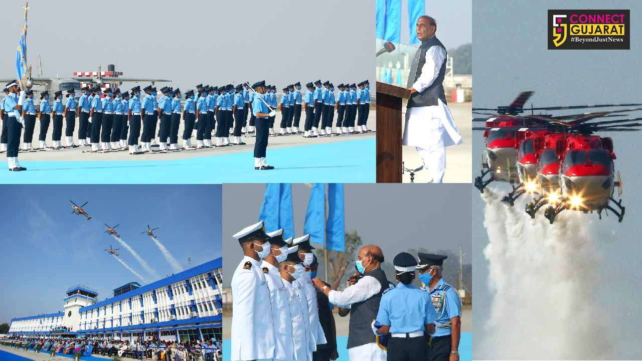 Combined graduation parade held at Air Force academy