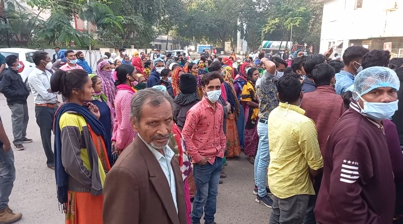SSG contract employees went on strike