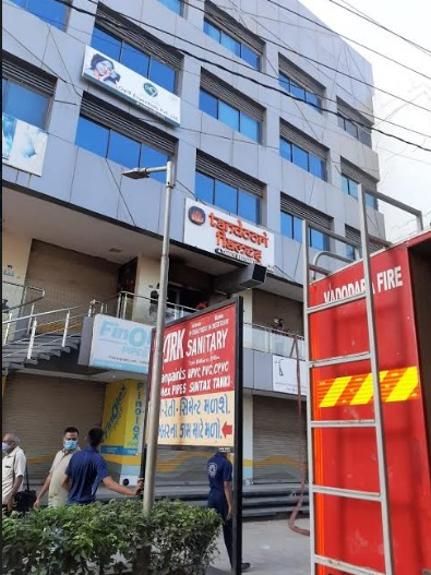Fire inside restaurant in Vadodara