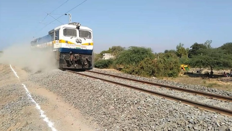 Commissioner Railway Safety, Western Circle Inspection of Dabhoi-Chandod Section