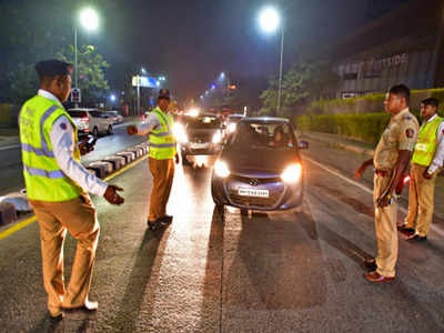 Vadodara police caught 32 for drink and drive