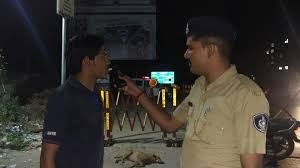 Vadodara police intensive checking drive on new year eve