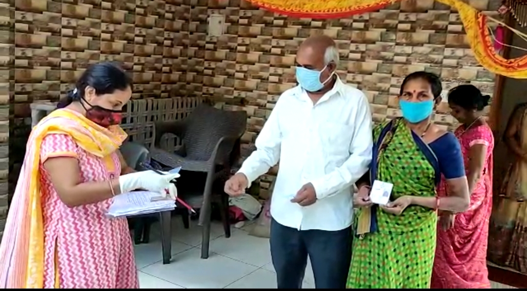 More than 2.08 lakh people were registered in rural areas of Vadodara district under Covid vaccination survey