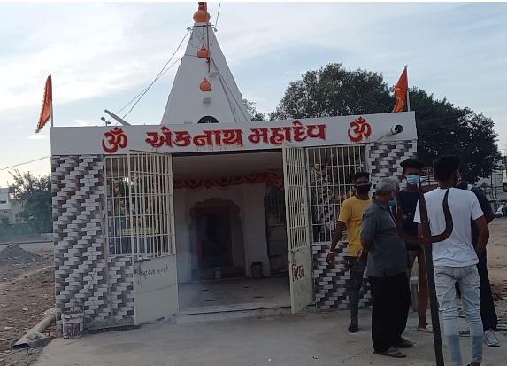Thieves strike inside a Shiva temple in Vadodara