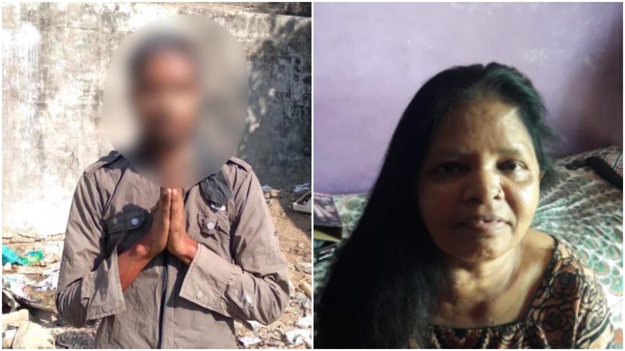 Son brutally murdered his mother in Vadodara