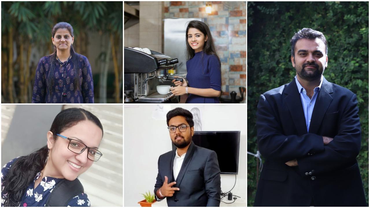 Parul university students shine at national platform